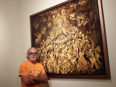 """Cuban Painter Humberto Benitez reaffirms his singular style"""